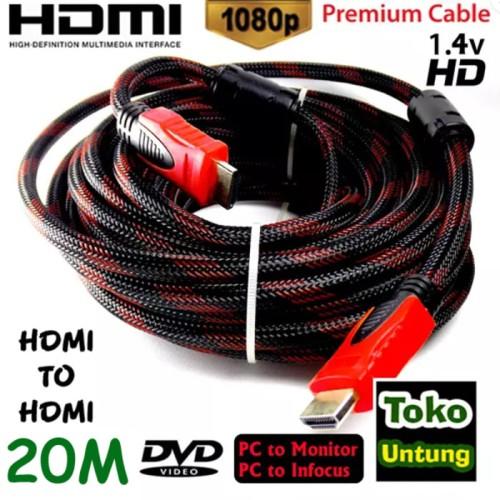Foto Produk promo Kabel HDMI 20 Meter HDMI to HDMI dari el-nur