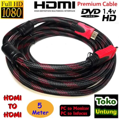 Foto Produk termurah Kabel HDMI to HDMI 5 Meter dari el-nur