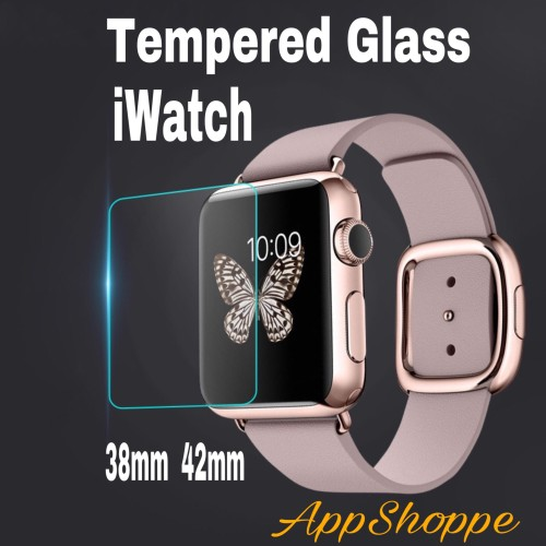 Foto Produk Apple iWatch Watch Tempered Glass Screen Protector 38mm 42mm dari AppShoppe