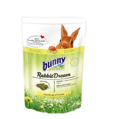Foto Produk Bunny Nature Dream Basic Rabbit Food 1.5kg Makanan Kelinci - EXP 2021-10 dari Hime petshop