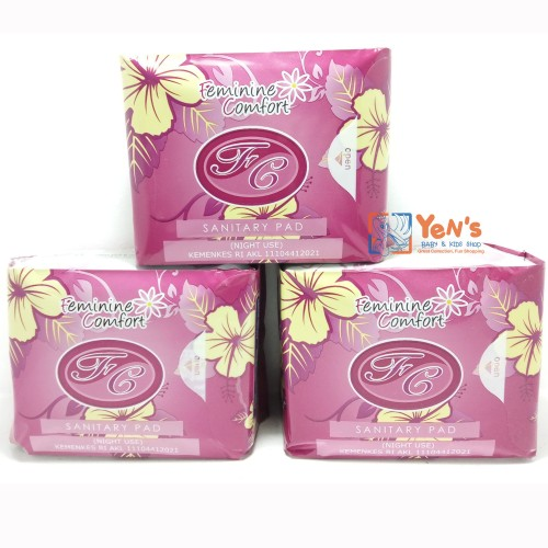 Foto Produk Feminine Comfort Night Use Pantiliner dari Yen's Baby & Kid Official Shop