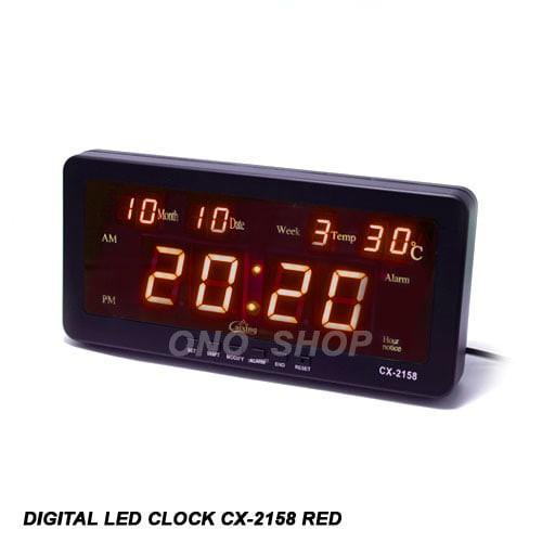 Foto Produk Digital LED Clock  CX-2158 Red dari ONO SHOP