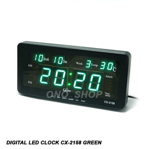 Foto Produk Digital LED Clock CX-2158 Green dari ONO SHOP