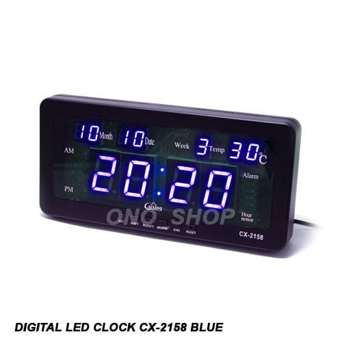 Foto Produk Digital LED Clock CX-2158 Blue dari ONO SHOP