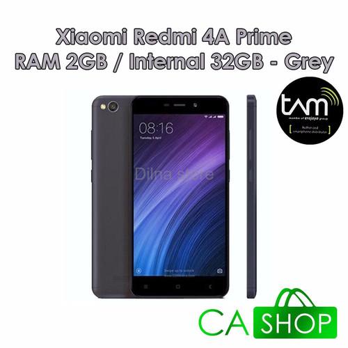 Foto Produk Xiaomi Redmi 4A Prime TAM 32GB Dark Grey Baru New dari Dilna Store