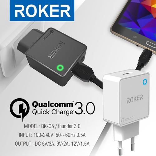 Foto Produk ROKER THUNDER QC 3.0 dari Roker Official Store