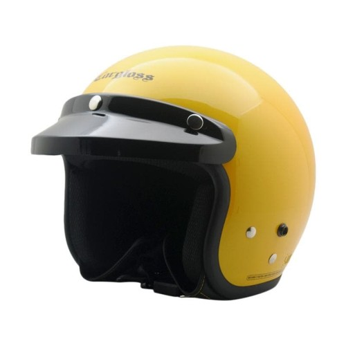 Foto Produk Helm Cargloss Retro Excotic Yellow - Kuning, M dari Helm Cargloss