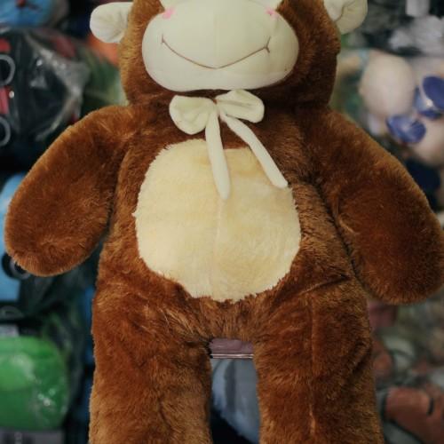 Foto Produk BONEKA MONKEY MONYET KERA - Cokelat dari luckytoys boneka