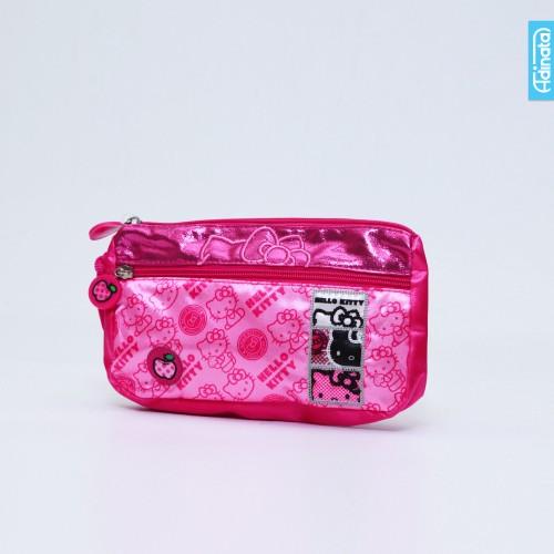 Foto Produk Hello Kitty Square Soft Pen Case Adinata / Tempat Pensil dari ADINATA Official Store