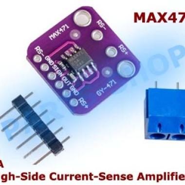 Foto Produk MAX471 High-Side current sensor module 3a modul Sensor Arus 3~36v dari parts-shop