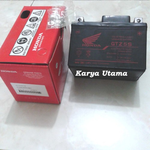 Foto Produk Aki / Accu Kering GS AHM Honda Karisma / Supra X 125 / Vario / Beat dari Karya Utama shop