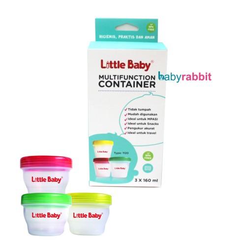 Foto Produk Multifunction Container Little Baby 160ml BPA FREE dari Baby Rabbit