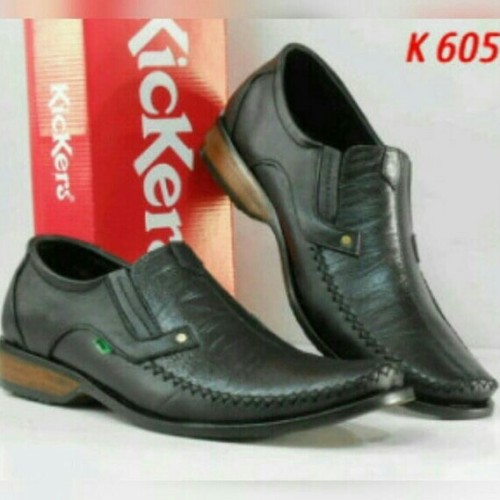 Foto Produk sepatu casual pantofel kerja kantor kickers pria kulit asli K605 dari DAYAT SPORT