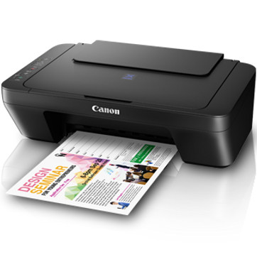Foto Produk Printer Canon PIXMA E-410 PRINT SCAN COPY ORIGINAL RESMI BERGARANSI dari Megacomp Online