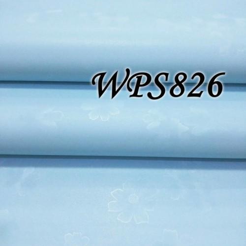 Foto Produk WALLPAPER STICKER / WALPAPER STIKER 45CMX5M WPS826 BLUE POLOS TEXTURE dari JEJOMART