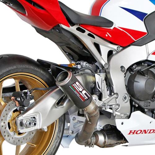 Foto Produk SC Project Carbon CRT Slip On Untuk Honda CBR1000RR 2014 2016 dari duniamotorcom-DM
