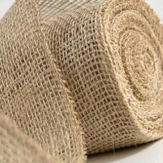 Foto Produk Kain Goni Karung Goni Taplak Meja Table Mat Bahan Craft Scrapbook dari Wimpy Clay