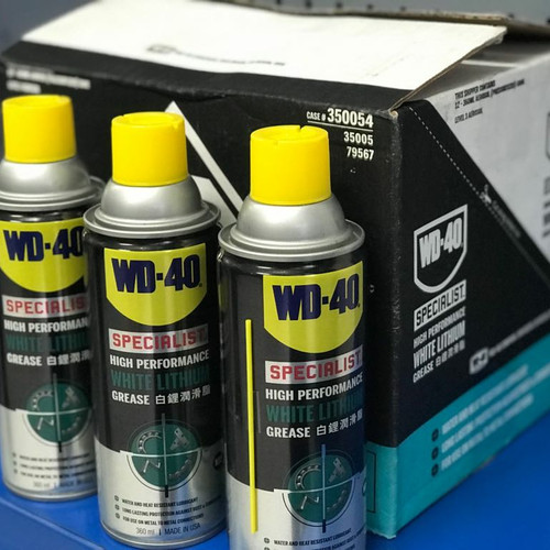 Foto Produk WD40 White Lithium Grease 360ml / Pelumas WD 40 360 ml dari TS Tools