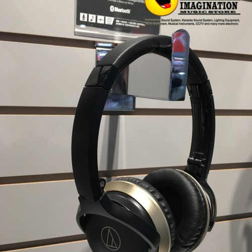 Foto Produk Audio Technica ATH-AR3BT Wireless Headphone Bluetooth dari IMAGINATION MUSIC STORE
