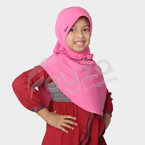 Foto Produk Jilbab Anak Feyza Rostina - Pink dari Nafisa