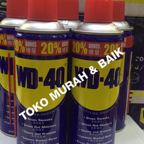Foto Produk wd40 333ml wd40 333 ml wd 40 333ml wd 40 333 ml dari Murah & Baik