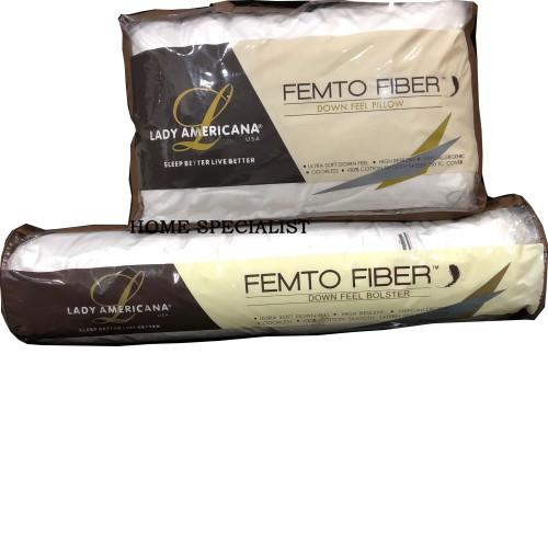Foto Produk Bantal dan Guling Lady Americana FEMTO Fibre Fiber dari Home Specialist