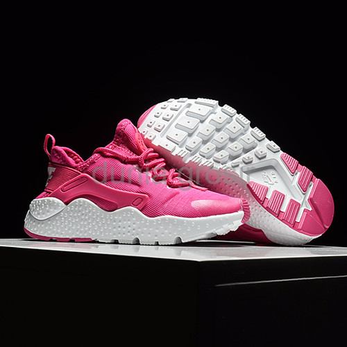 Sepatu Anak Nike Huarache Ultra Run Pink White