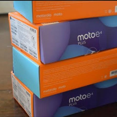 Foto Produk PROMO Motorola Moto E4 plus 3/32 NEW grey and gold RESMI MURAH dari YTM cellular