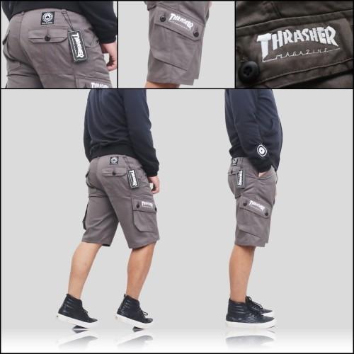 Foto Produk celana cowok | celana cargo pendek untuk santai dari umarahma