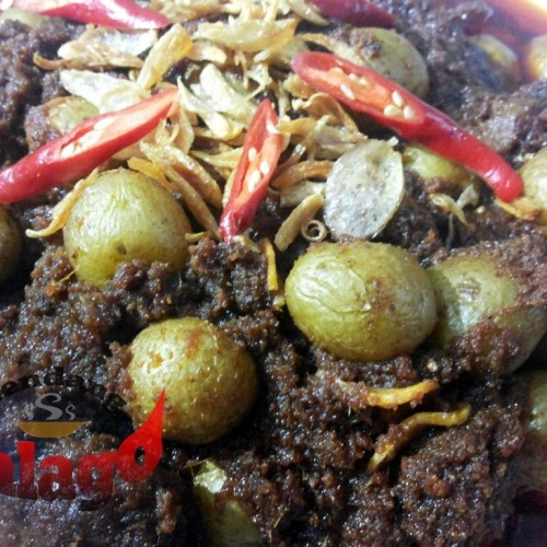 Foto Produk Bumbu Rendang Kacang Merah / Kentang Kecil 500 gram dari Rendang Talago