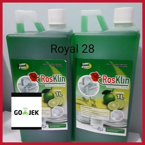 Foto Produk Sabun cuci Piring Rosklin ASLI 1L dari Royal 28