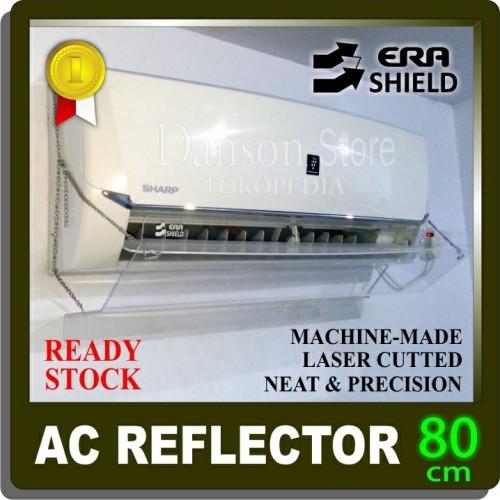 Foto Produk Talang ac/Reflector/acrylic/penghalang/penahan hembusan angin ac 80cm - SATU pcs dari Danson Store