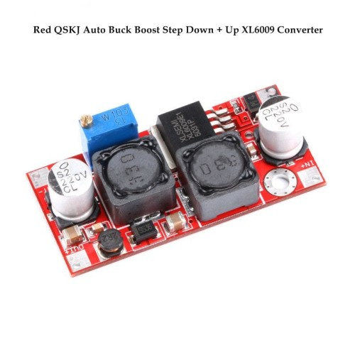 Foto Produk Auto Buck Boost Step Down + Up XL6009 Converter Solar Aki DC dari Arfa Arduino Robot