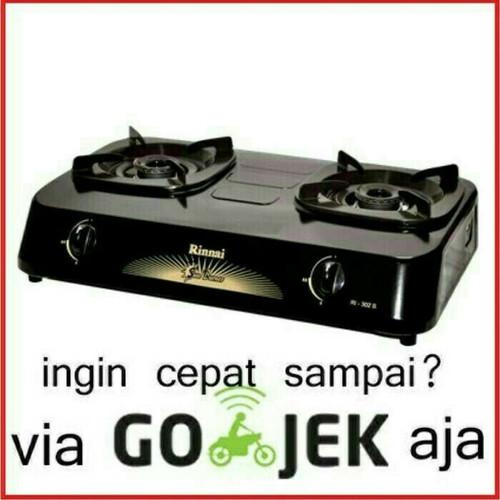 Foto Produk Kompor Gas Rinnai 302 S 2 Tungku. Baru & Bergaransi Resmi dari Sinar Elektronik Jakarta