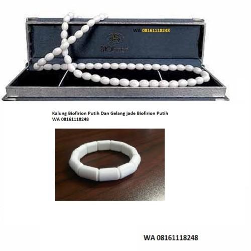 Foto Produk Paket Kalung Kesehatan Kalung dan Gelang Biofirion Putih dari GNE Product