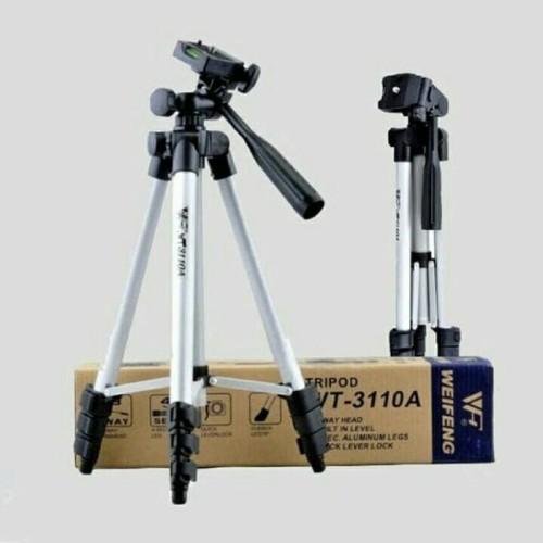 Foto Produk TRIPOT WEIFENG 3110 Tripot Camera Tripod Hp Tripot Handycamp Tongsis dari Stofer Shop