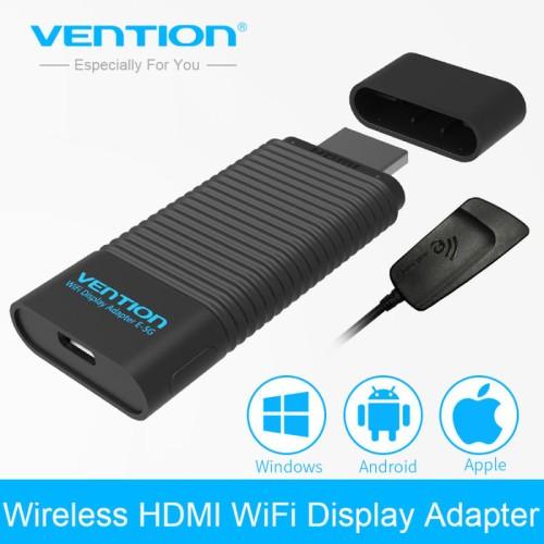 Foto Produk Vention ADDB0 EZCast 2 Wireless HDMI Transmitter Rece041217 Diskon dari toko ibuu