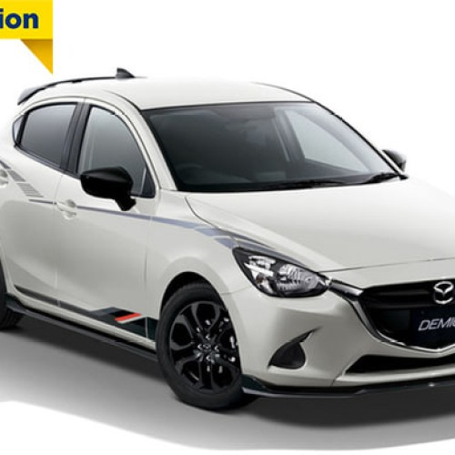 Foto Produk Stiker Mobil Mazda 2 Limited Edition high Quality041217 Limited dari toko ibuu