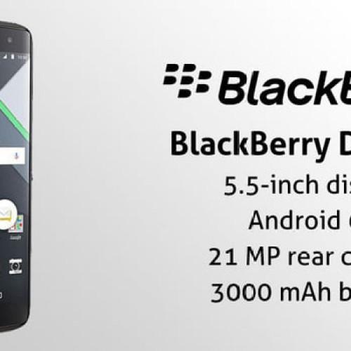 Foto Produk BLACKBERRY DTEK60 32GB RAM 4GB - NEW - 100% ORI - BNIB Murah dari restu mall