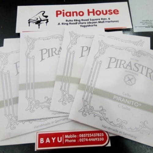 Foto Produk senar cello pirastro Piranito set dari Piano house