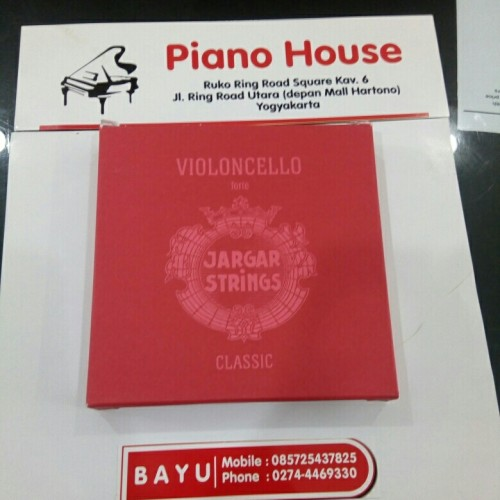 Foto Produk Senar cello / Cello string merah set dari Piano house