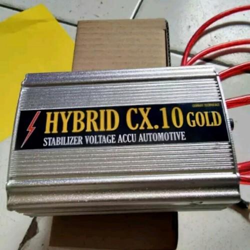 Foto Produk STABILIZER MOBIL HYBRID CX 10 GOLD dari jakartamobilaudio