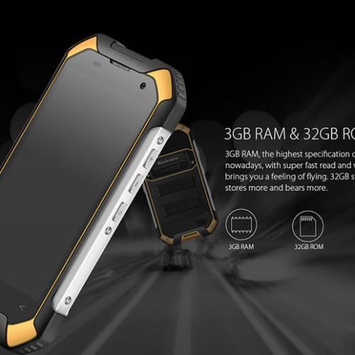 Foto Produk BLACKVIEW BV6000 32GB RAM 3GB IP68 Waterproof Outdoor P Berkualitas dari Pureba Megastore
