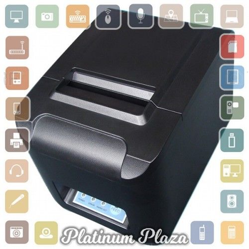 Foto Produk Printer POS Thermal Receipt Printer 80mm - 8320-II - Black`6G6PU2- dari Platinum Plaza