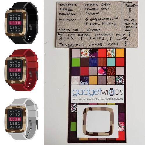 Foto Produk GadgetWraps Pebble Time Digital Desert Camo Wrap dari Signature Vision Auto