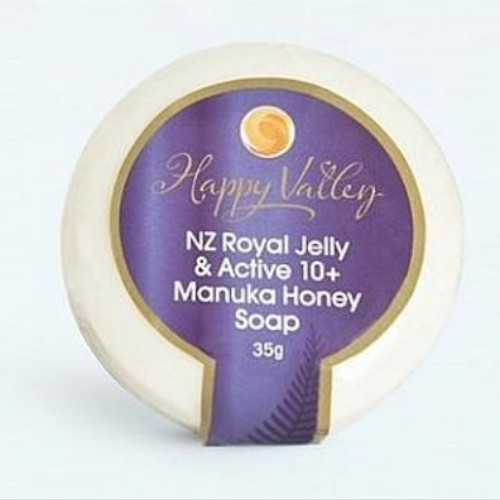 Foto Produk Happy Valley Royal Jelly & Manuka Soap 35gr dari ManukaHoneyStore
