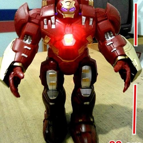 Foto Produk Mainan Robot Hulkbuster Ironbuster Ironman Hulk Baterai dari 43shop