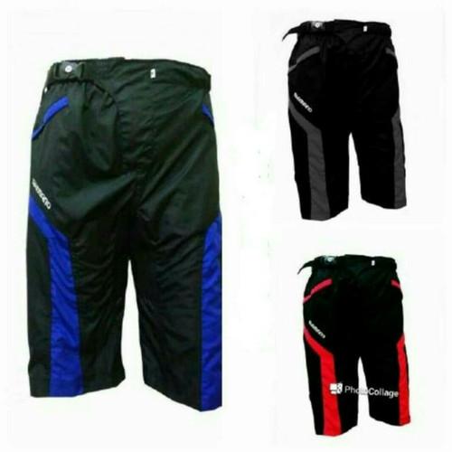 Foto Produk Celana Sepeda Tidak Ketat Padding Motif Transformer dari Run And Sport