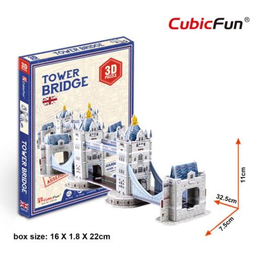 Foto Produk Cubicfun 3D Puzzle Mini Tower Bridge dari volenuf