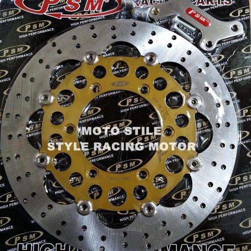 Foto Produk Piringan Cakram PSM 320mm Honda Tiger Old / Honda CB150R / New Megapro dari style racing motor